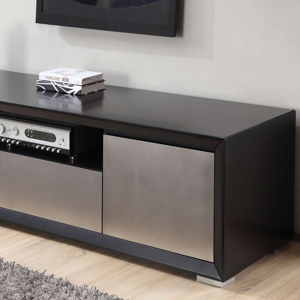 B Modern Esquire Tv Stand | Black, B Modern – Modern Manhattan Inside Black Modern Tv Stands (View 1 of 15)