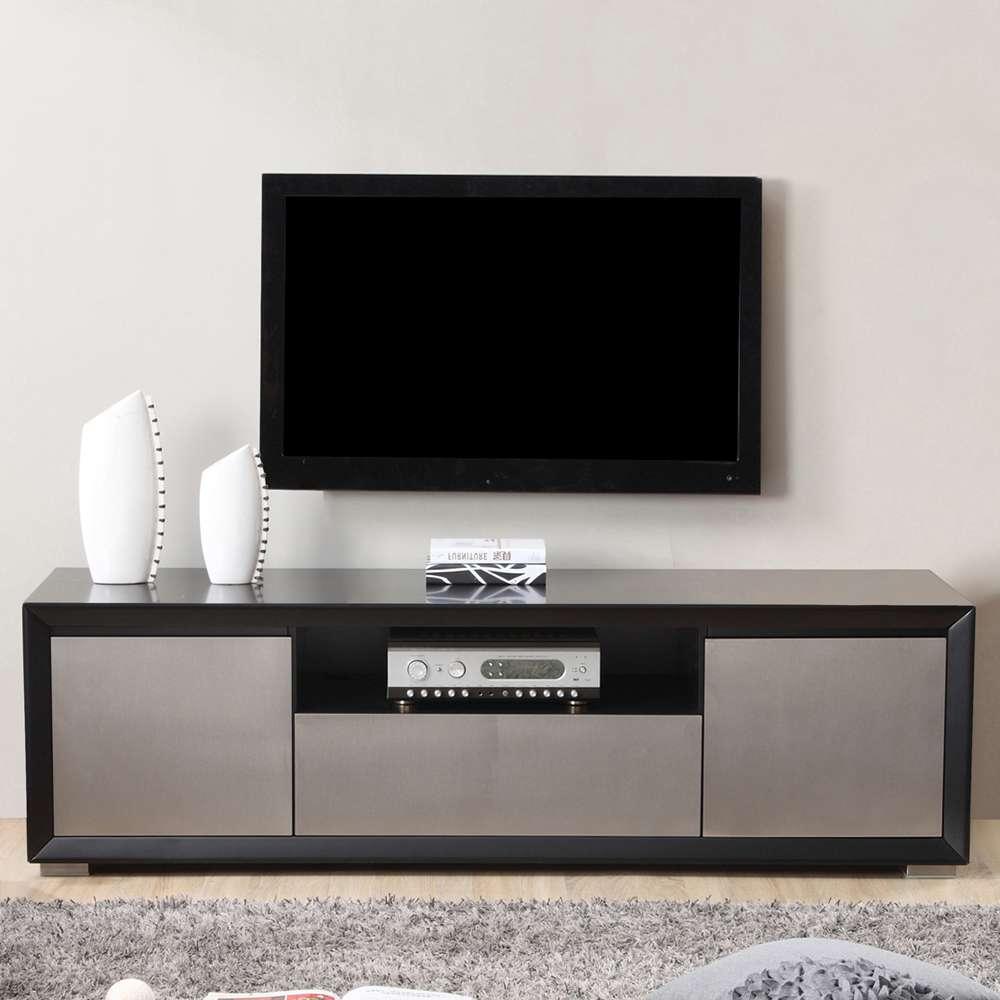 B Modern Esquire Tv Stand   Black, B Modern – Modern Manhattan Pertaining To Modern Black Tv Stands (View 12 of 20)