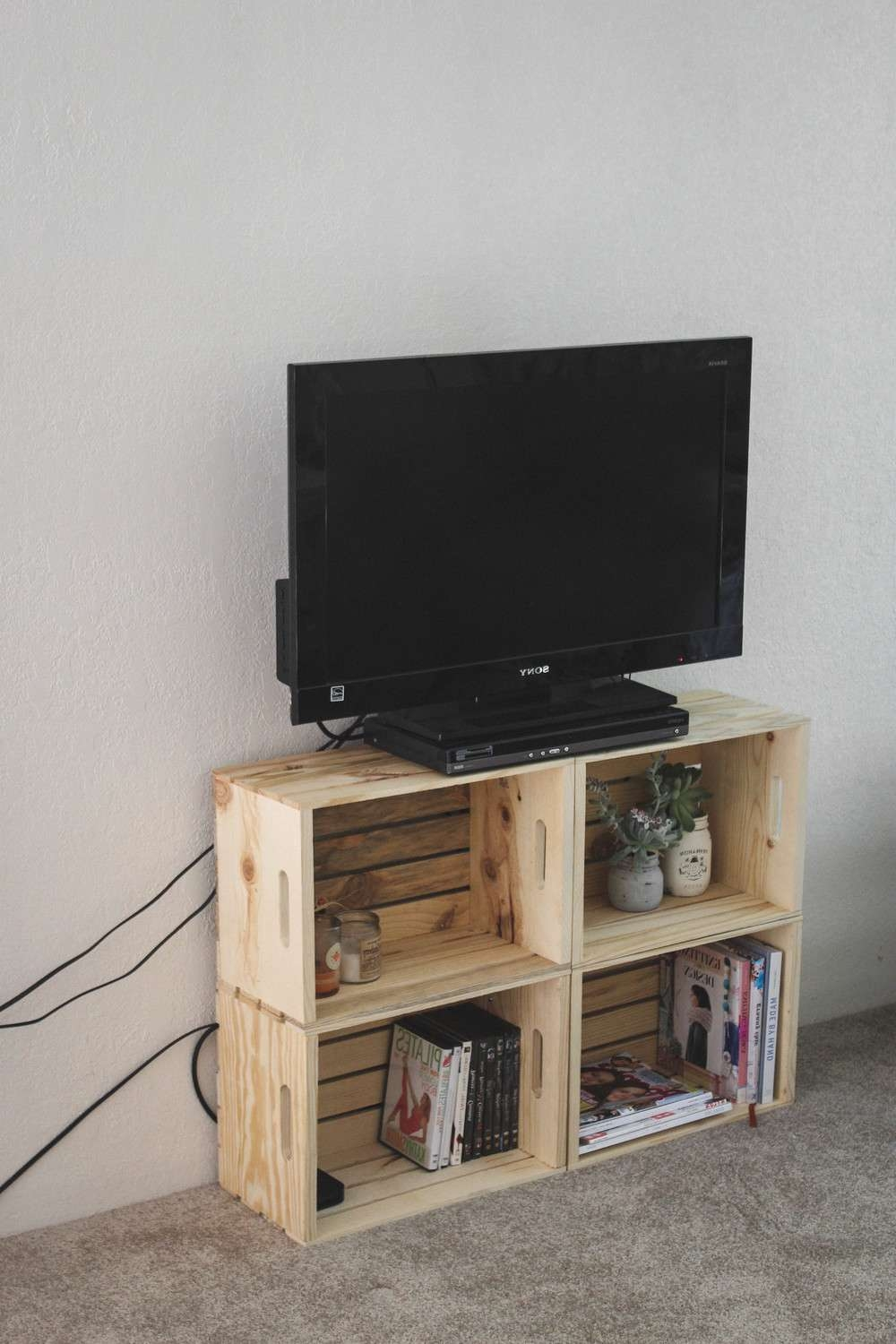 15 Best Collection Of Wooden Tv Stands With Wheels