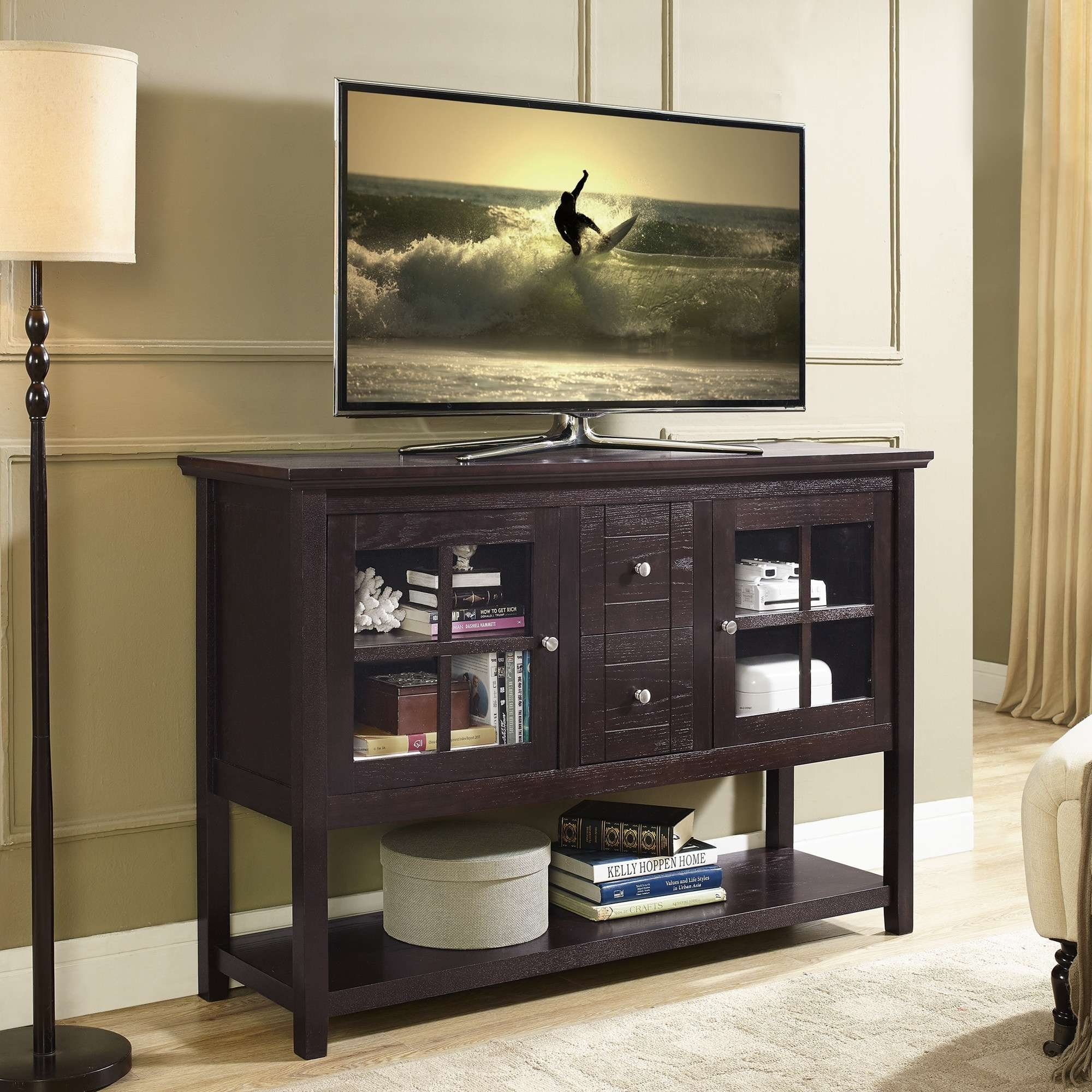 Bedroom Design : Marvelous Small Tv Cabinet Long Tv Stand With Long Tv Stands (View 2 of 15)
