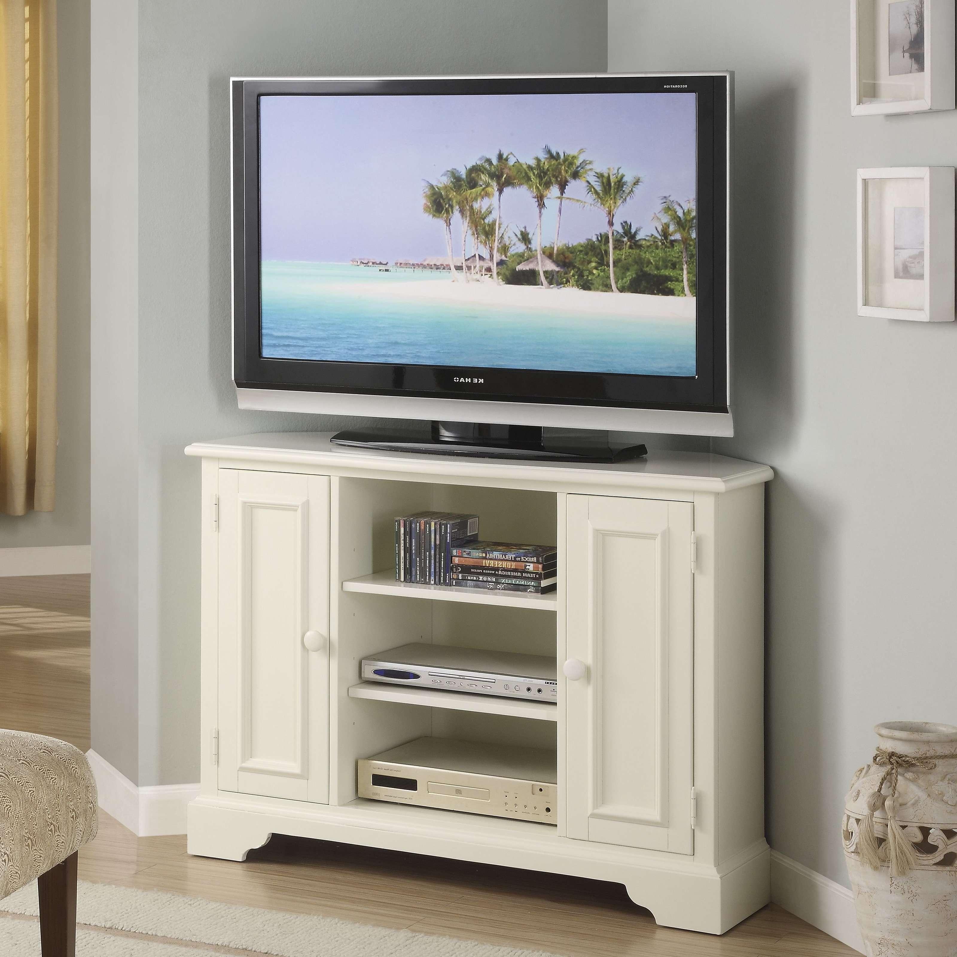 Bedroom Design : Wonderful Corner Tv Table Wooden Tv Cabinet Black For Wooden Tv Stands Corner Units (View 8 of 15)