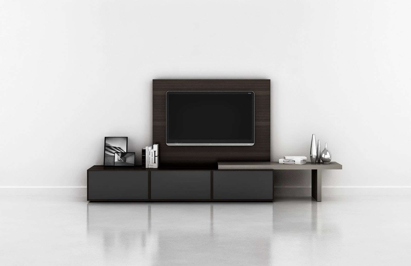 Bedroom. Stylish Tv Stand Designs For Contemporary Bedroom (View 10 of 20)