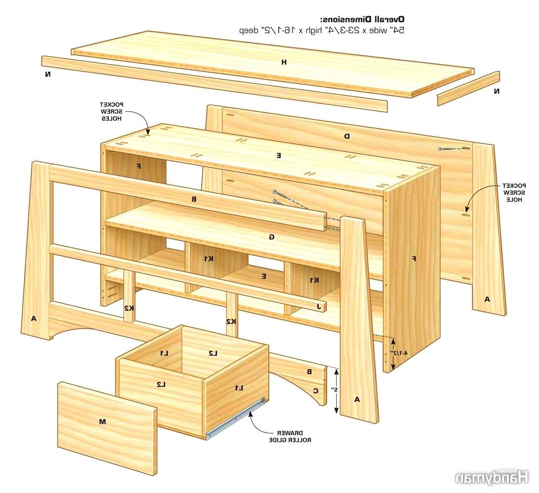 Bedroom : Sweet Diy Stand The Family Handyman How Build Out Wood Regarding 24 Inch Deep Tv Stands (View 5 of 15)