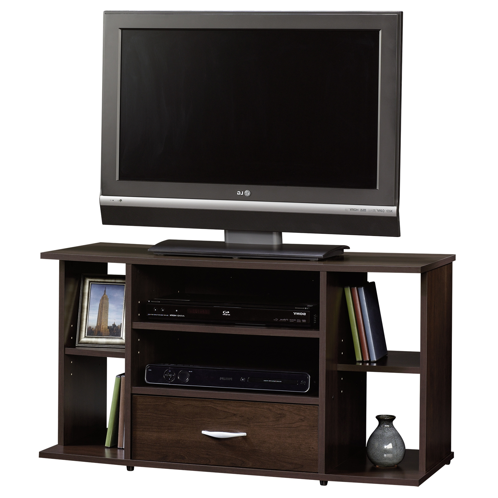 Beginnings | Tv Stand | 413037 | Sauder For Cherry Tv Stands (View 11 of 15)