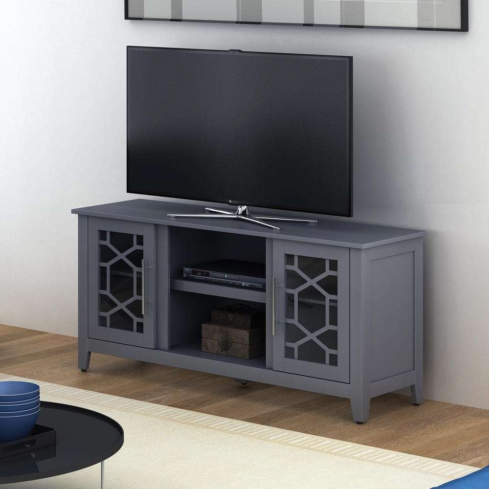 Bell'o Clarion Gray Tv Stand For Tvs Up To 60 In (View 1 of 15)
