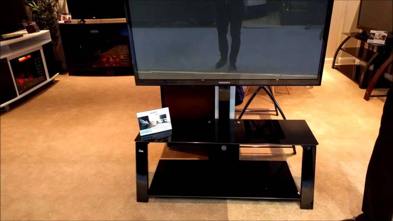 Bell'o Tp4444 Triple Play Tv Stand Product Overview – Youtube Regarding Bell'o Triple Play Tv Stands (View 3 of 15)