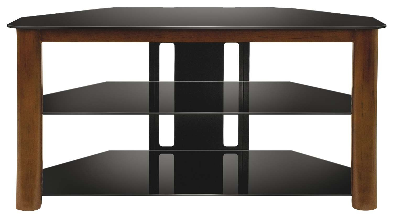 """Bell'o Triple Play Tv Stand For Flat Panel Tvs Up To 46"""" Brown Within Bell'o Triple Play Tv Stands (View 8 of 15)"""