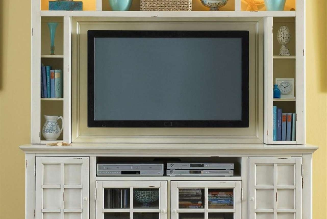 Beloved Cream Coloured Tv Stands Tags : Cream Color Tv Stands Beam Within Cream Color Tv Stands (View 1 of 15)