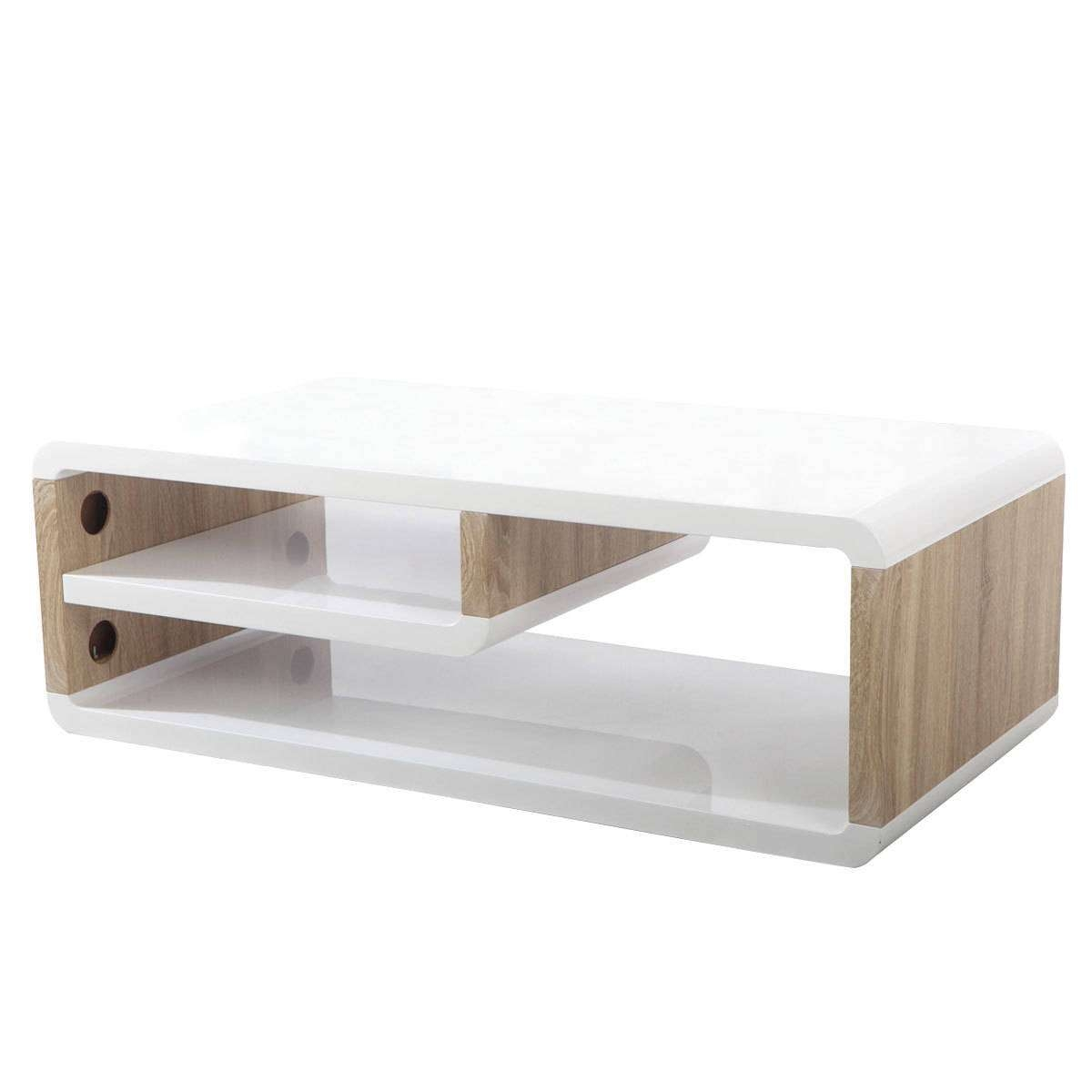 Bentley Home Walnut & White Gloss Tv Stand | Charles Bentley Intended For White Gloss Corner Tv Stands (View 1 of 15)