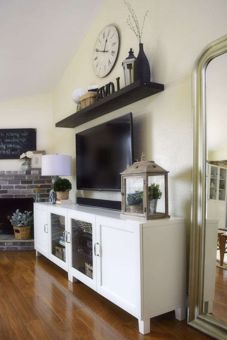 Best 25+ Tv Entertainment Wall Ideas On Pinterest | Entertainment With Illuminated Tv Stands (View 1 of 20)