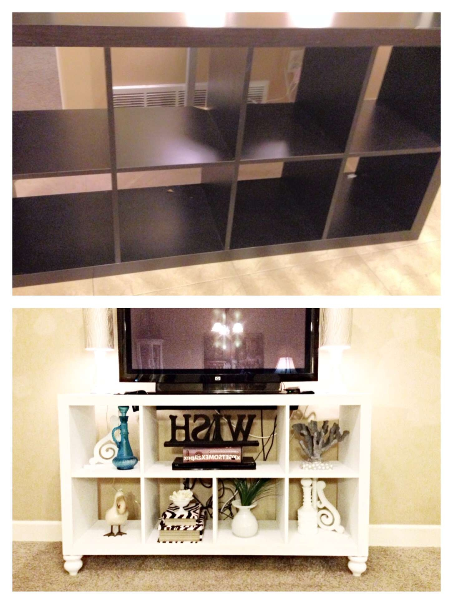Best Solutions Of Diy Ikea Bookshelf To Tv Stand I Ll Do It Myself With Tv Stands And Bookshelf (View 1 of 15)