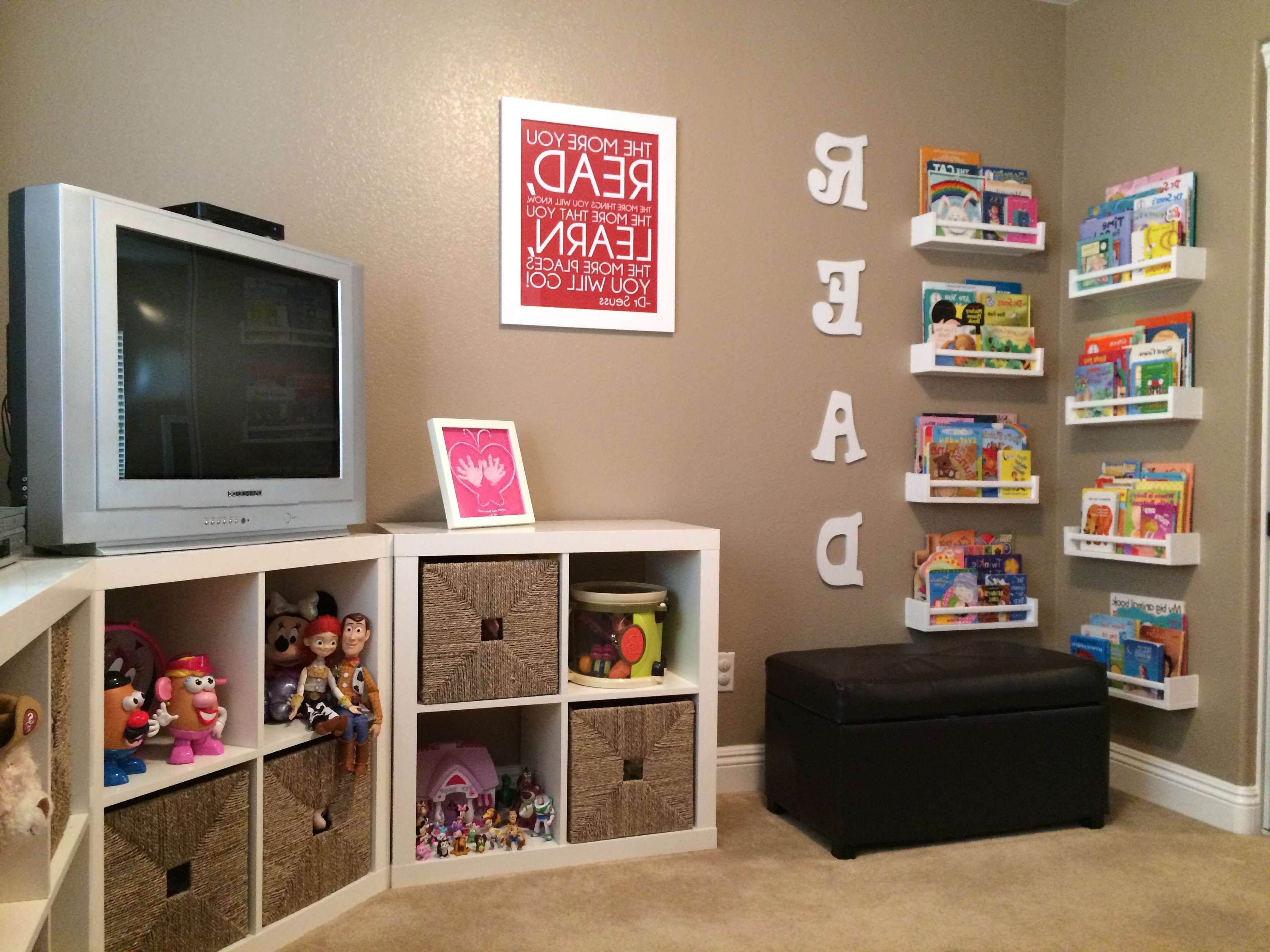 Best Tv Stands For Kids Room Modern Rooms Colorful Design Simple Intended For Playroom Tv Stands (View 6 of 15)