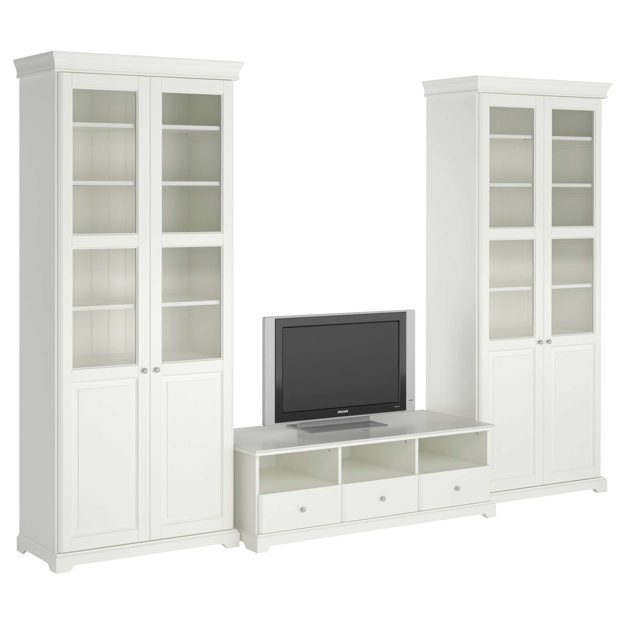 Besta Media Storage Tv Stands Entertainment Centers Ikea Liatorp Inside White Wooden Tv Stands (View 3 of 20)