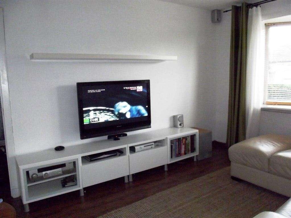 Besta Tv Stand Ideas Intended For Long White Tv Stands (View 2 of 15)