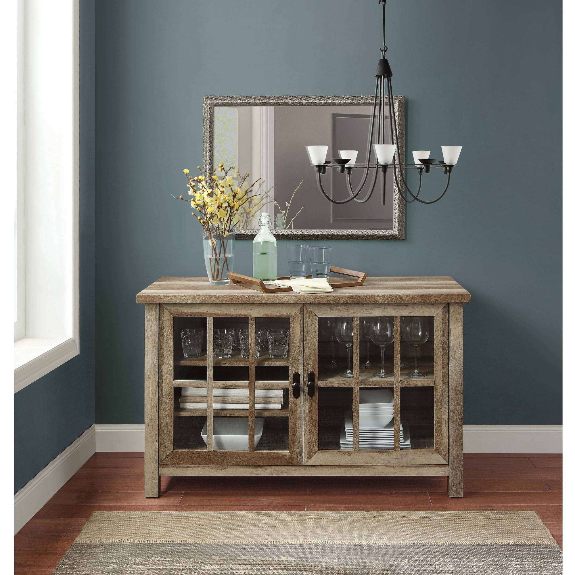 Better Homes And Gardens Oxford And Stand Tv Square Console For With Regard To Square Tv Stands (View 3 of 15)