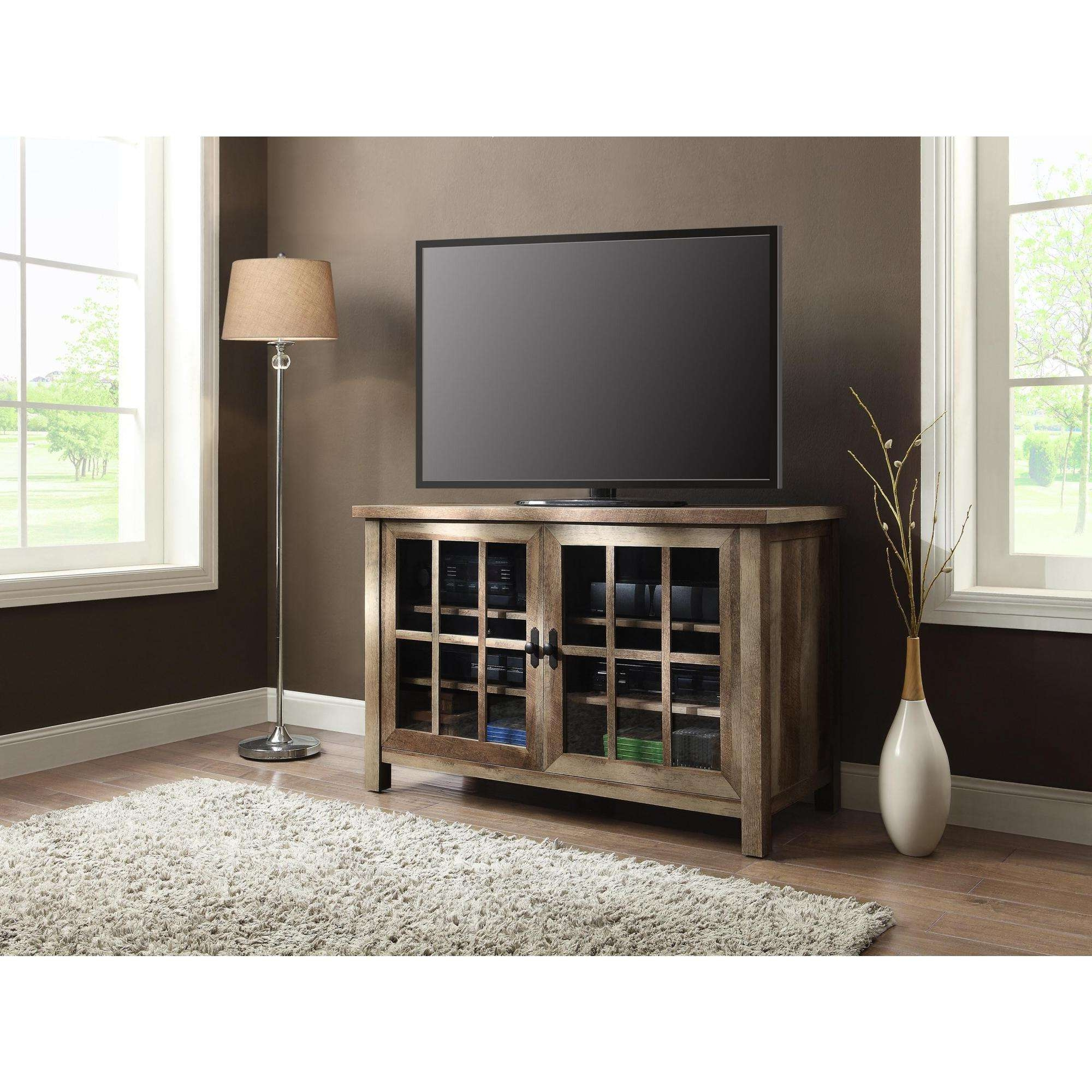 Better Homes And Gardens Oxford And Stand Tv Square Console For With Square Tv Stands (View 3 of 15)