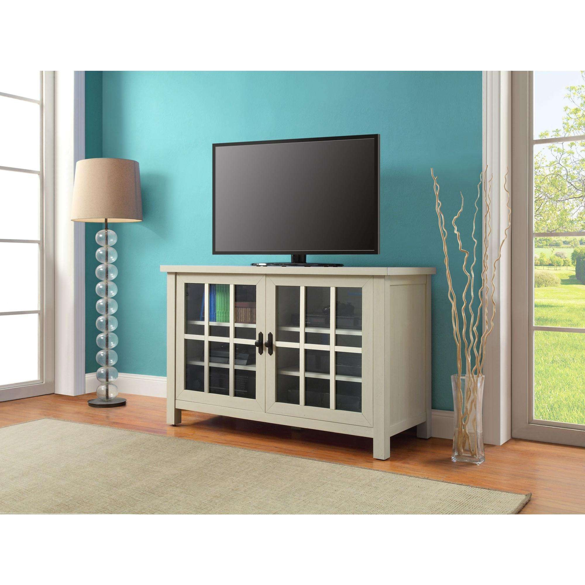 Better Homes And Gardens Oxford Square Tv Console For Tvs Up To 55 Pertaining To Square Tv Stands (View 4 of 15)