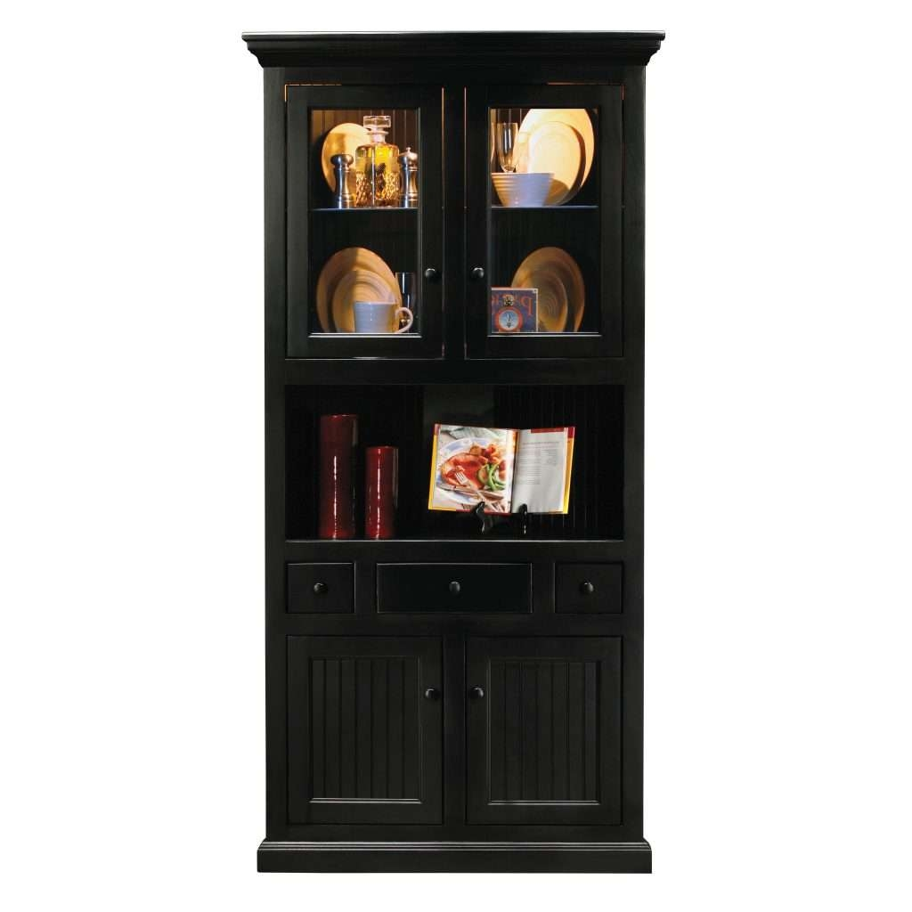 Black Corner Display Cabinet Edgarpoe Net Image On Wonderful Black In Black Corner Tv Cabinets With Glass Doors (View 8 of 20)