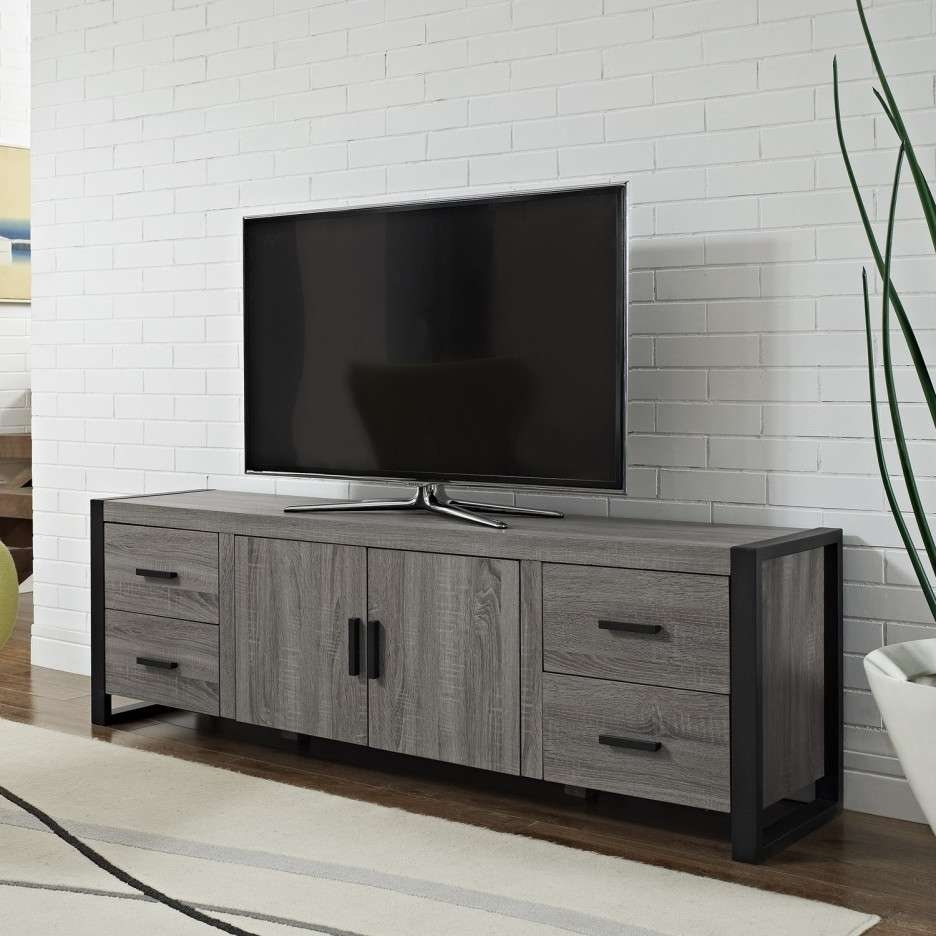 Black Grey Enclosed Tv Cabinets For Flat Screens With Doors Mixed For Enclosed Tv Cabinets For Flat Screens With Doors (View 1 of 20)