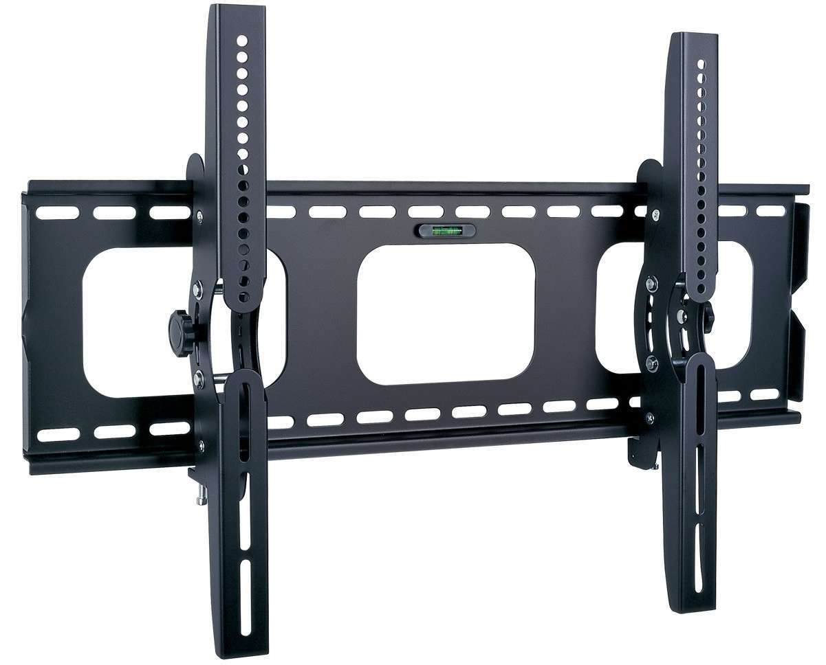 Black Metal Adjustable Wall Mounted Tv Stand Of Beautiful Tv Regarding Wall Mount Adjustable Tv Stands (View 16 of 20)