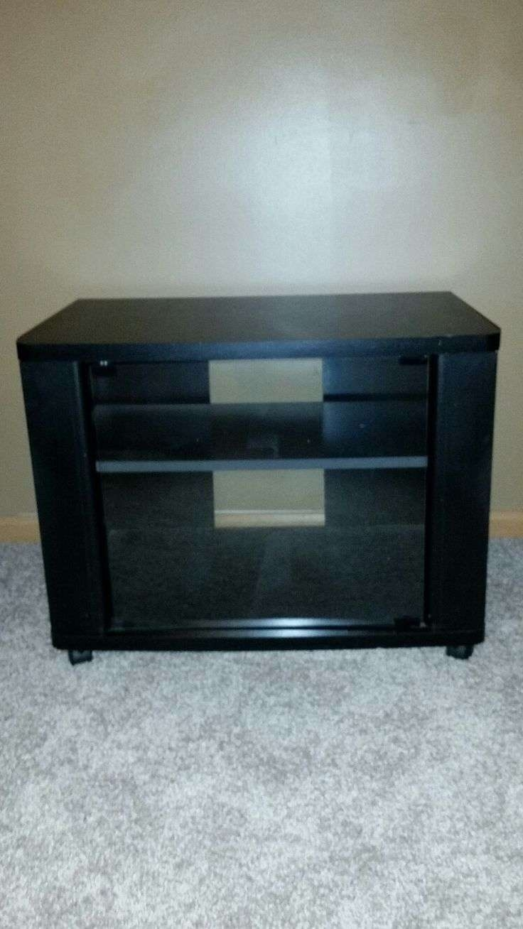 Black Small Tv Stands Tags : 40 Stunning Small Black Tv Stand Throughout Small Black Tv Cabinets (View 6 of 20)