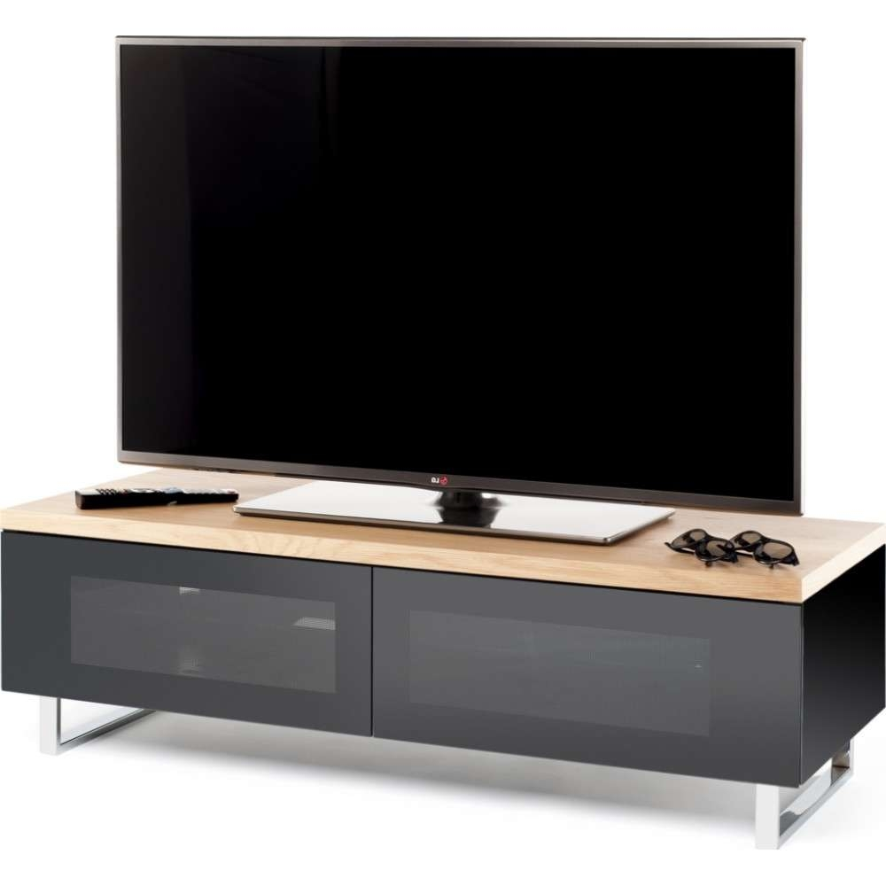 Black Tv Stands For Lcd Led & Plasma / Black Hi Fi Stands With Black Corner Tv Stands For Tvs Up To  (View 2 of 20)