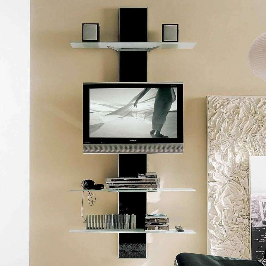 Breathtaking Unusual Tv Stands With Modern Led Tv Under Two Square With Regard To Unusual Tv Stands (View 2 of 15)