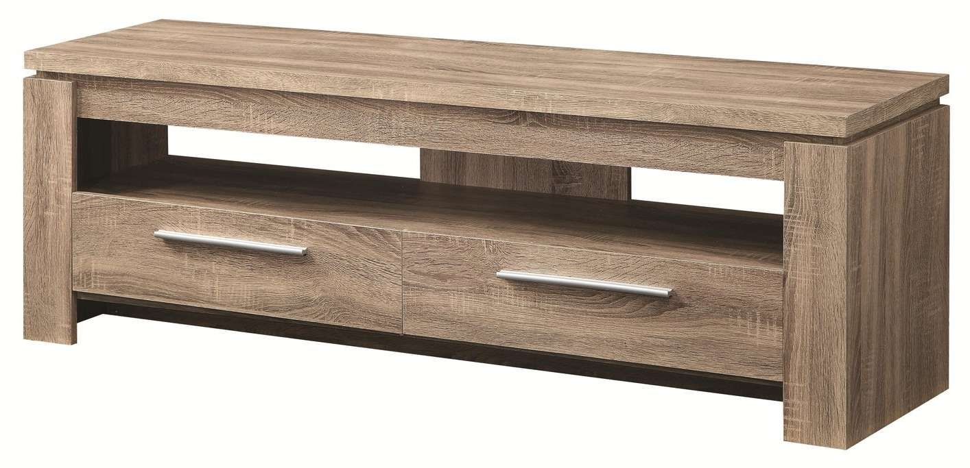 Brown Wood Tv Stand – Steal A Sofa Furniture Outlet Los Angeles Ca For Wooden Tv Stands (View 5 of 15)