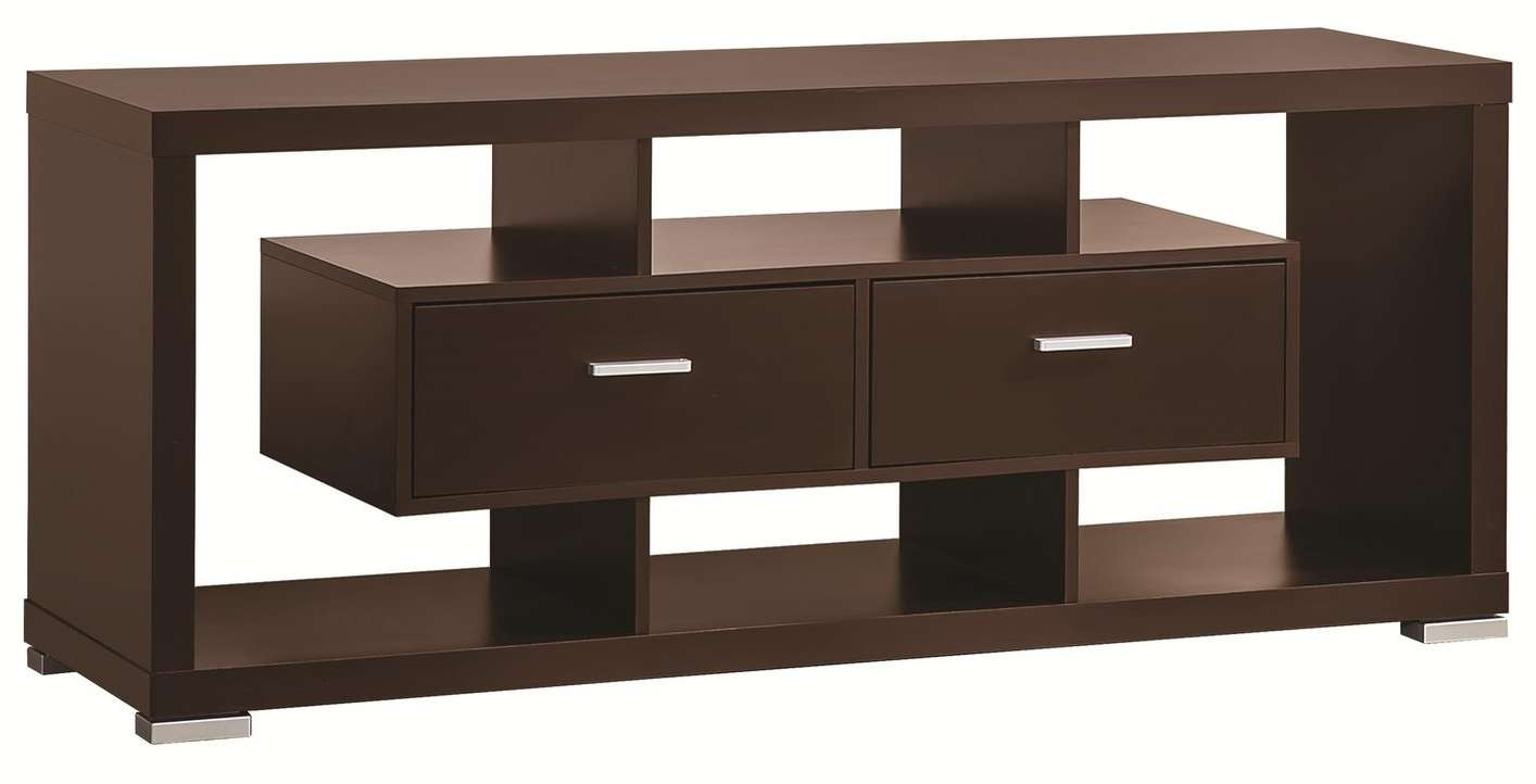 Brown Wood Tv Stand – Steal A Sofa Furniture Outlet Los Angeles Ca Intended For Wooden Tv Stands (View 3 of 15)
