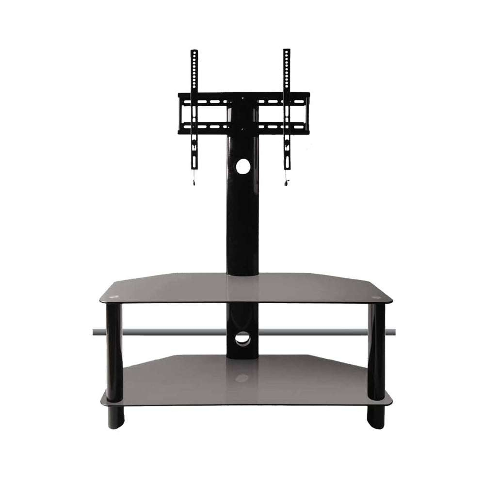 "Buy 50"" Glass Tv Stand With Bracket Throughout Tv Stands With Bracket (View 2 of 15)"