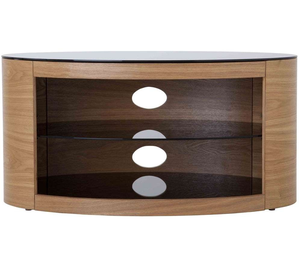 Buy Avf Buckingham 800 Tv Stand | Free Delivery | Currys Inside Glass And Oak Tv Stands (View 3 of 15)
