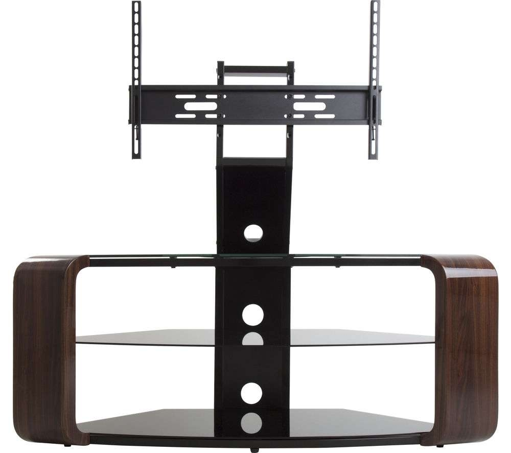 Buy Avf Como Fsl1174Cow Tv Stand With Bracket – Walnut | Free With Como Tv Stands (View 4 of 15)