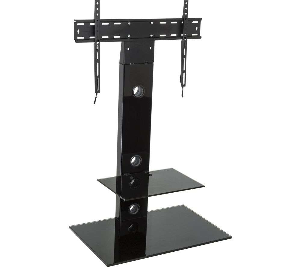 Buy Avf Reflections Fsl700Leb Lesina Tv Stand With Bracket – Black For Tv Stands With Bracket (View 6 of 15)