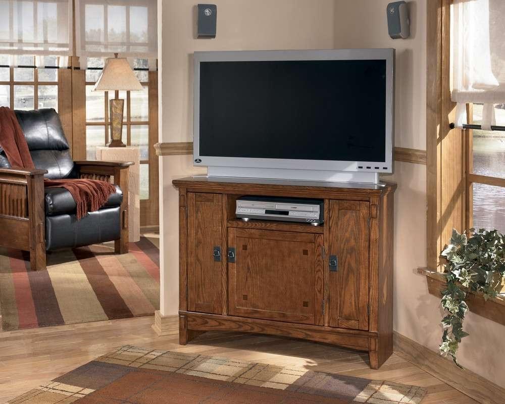 Buy Cross Island Corner Tv Standmillennium From Www Regarding Small Corner Tv Stands (View 19 of 20)