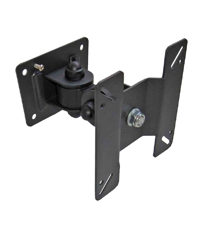 Buy Indiashopers Adjustable Swivel Plasma Lcd Led Tv Wall Mount Pertaining To Wall Mount Adjustable Tv Stands (View 17 of 20)