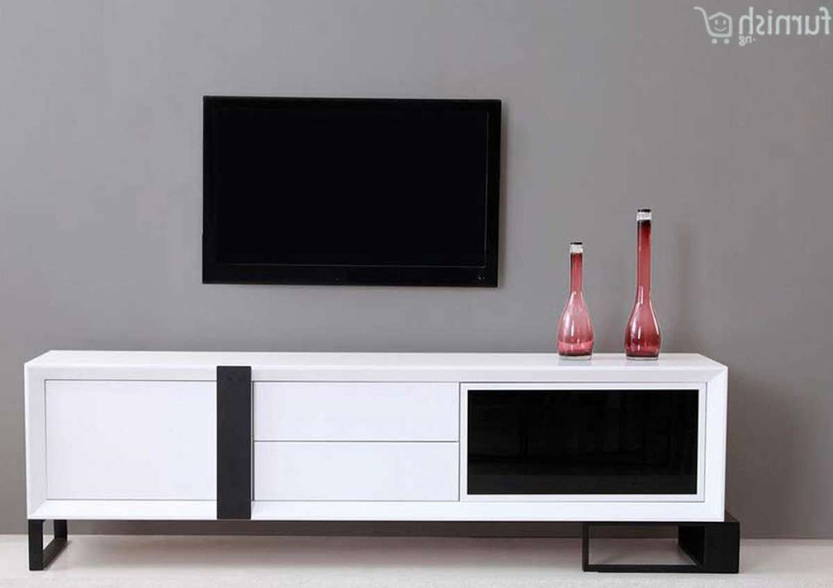 Buy Lovely Adaobi Extra Long Modern Tv Stand >> Furnish (View 1 of 15)