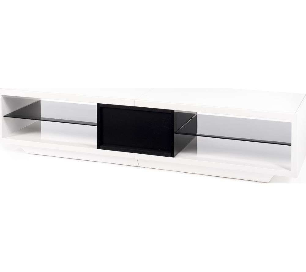 Buy Techlink Arena Aa150wtb 1500 Mm Tv Stand – White & Black Within Techlink Arena Tv Stands (View 7 of 15)