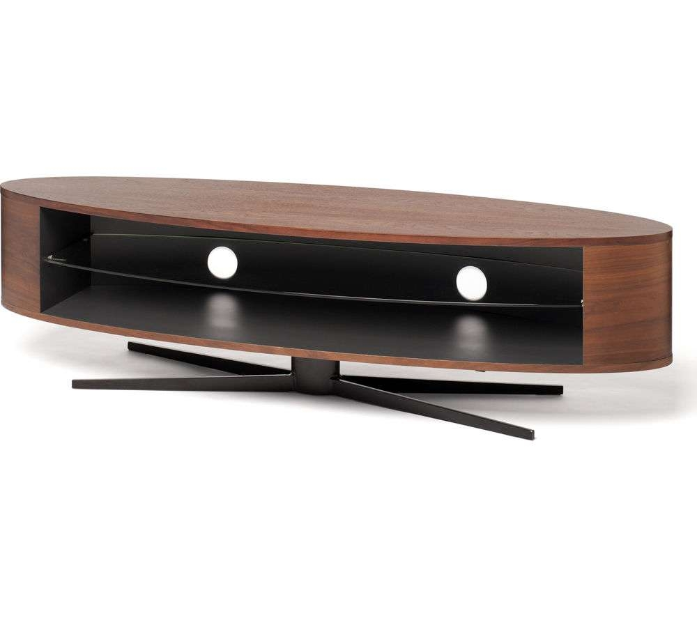 Buy Techlink Ellipse El140Wsg Tv Stand | Free Delivery | Currys With Techlink Tv Stands Sale (View 4 of 15)
