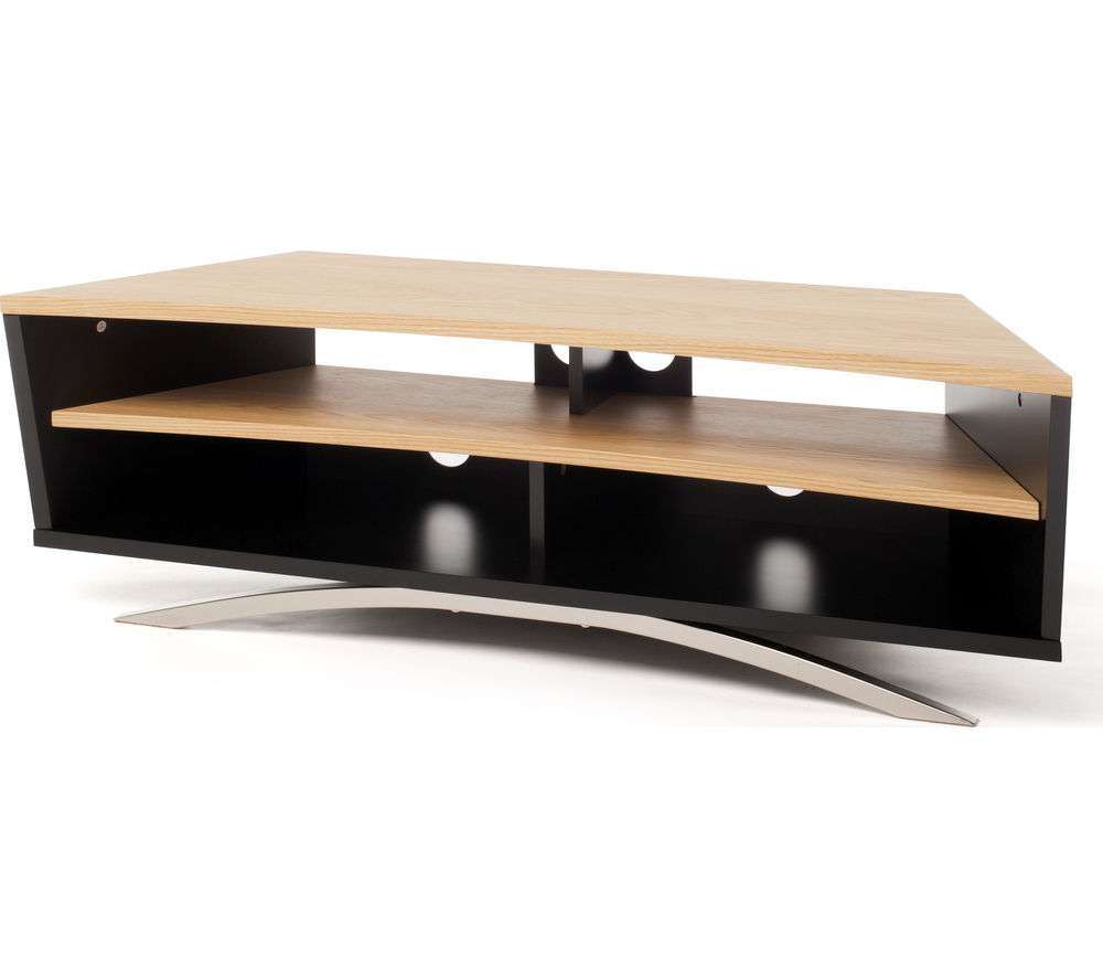 Buy Techlink Prisma Pr130Sblo Tv Stand | Free Delivery | Currys With Regard To Techlink Tv Stands (View 6 of 15)