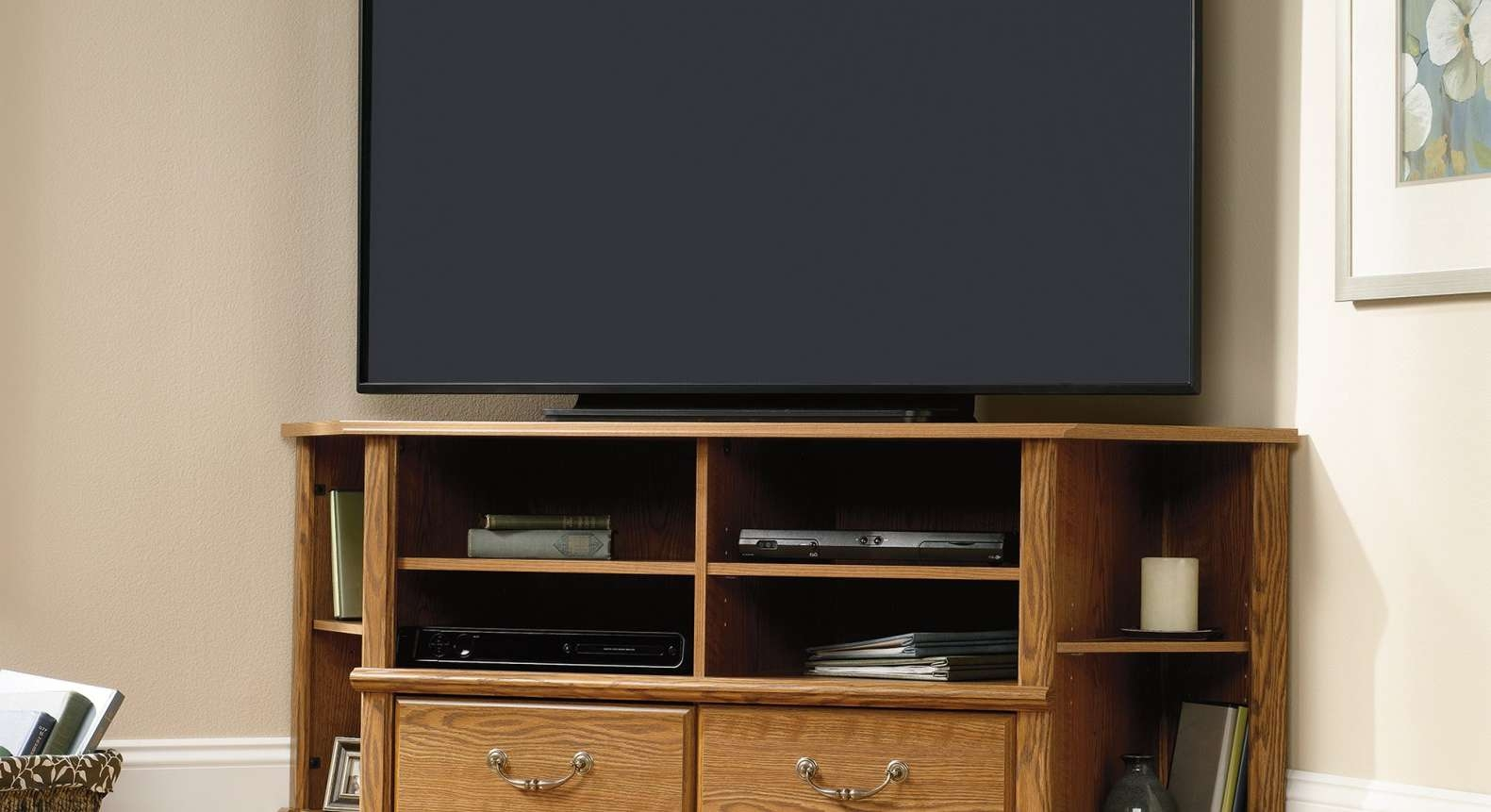 Cabinet : Uk Cf White Corner Tv Stand Amazing Corner Media Cabinet Pertaining To Off White Corner Tv Stands (View 5 of 15)