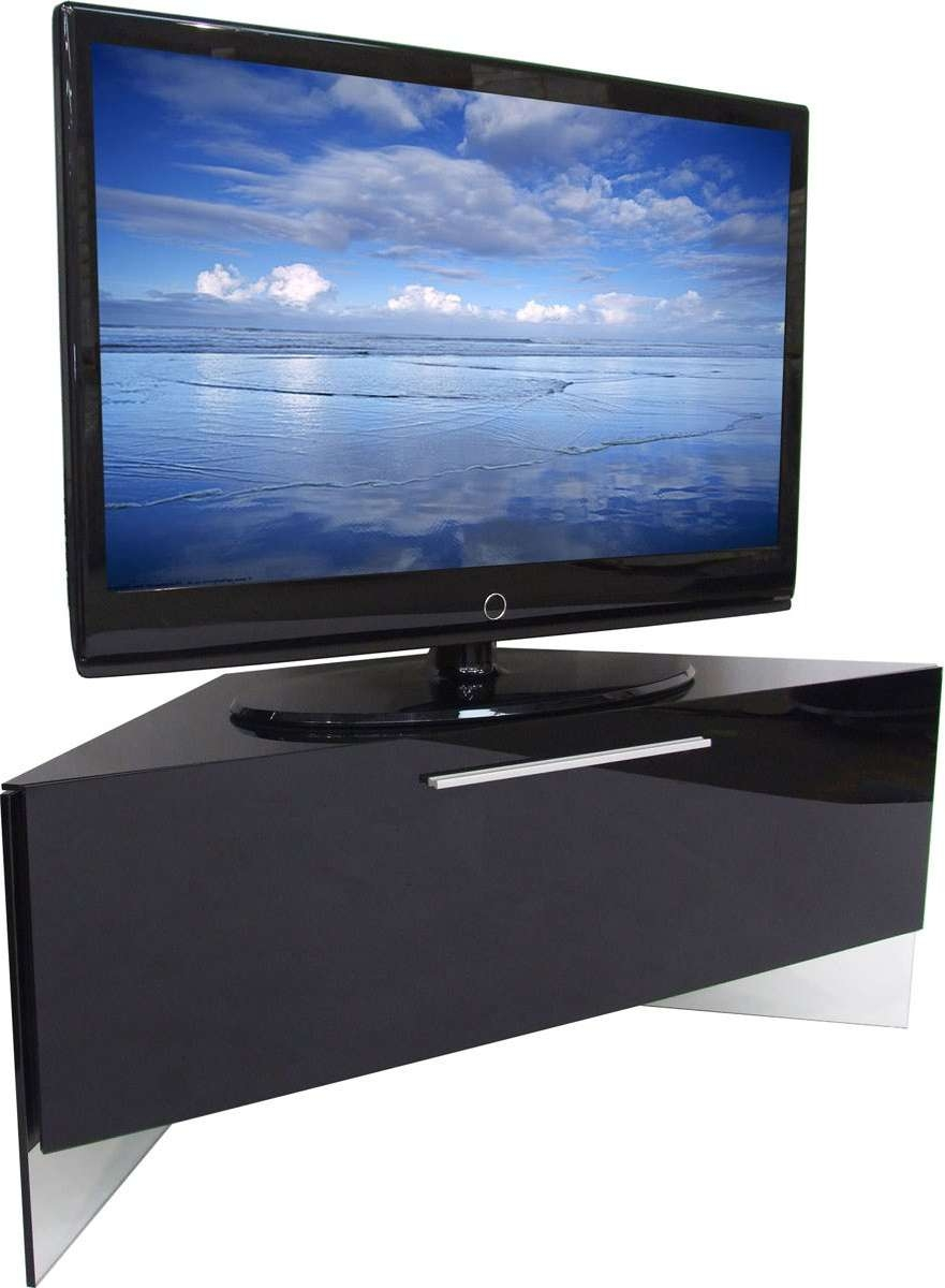 Cabinet   Willtofly For Black Gloss Corner Tv Stands (View 3 of 15)