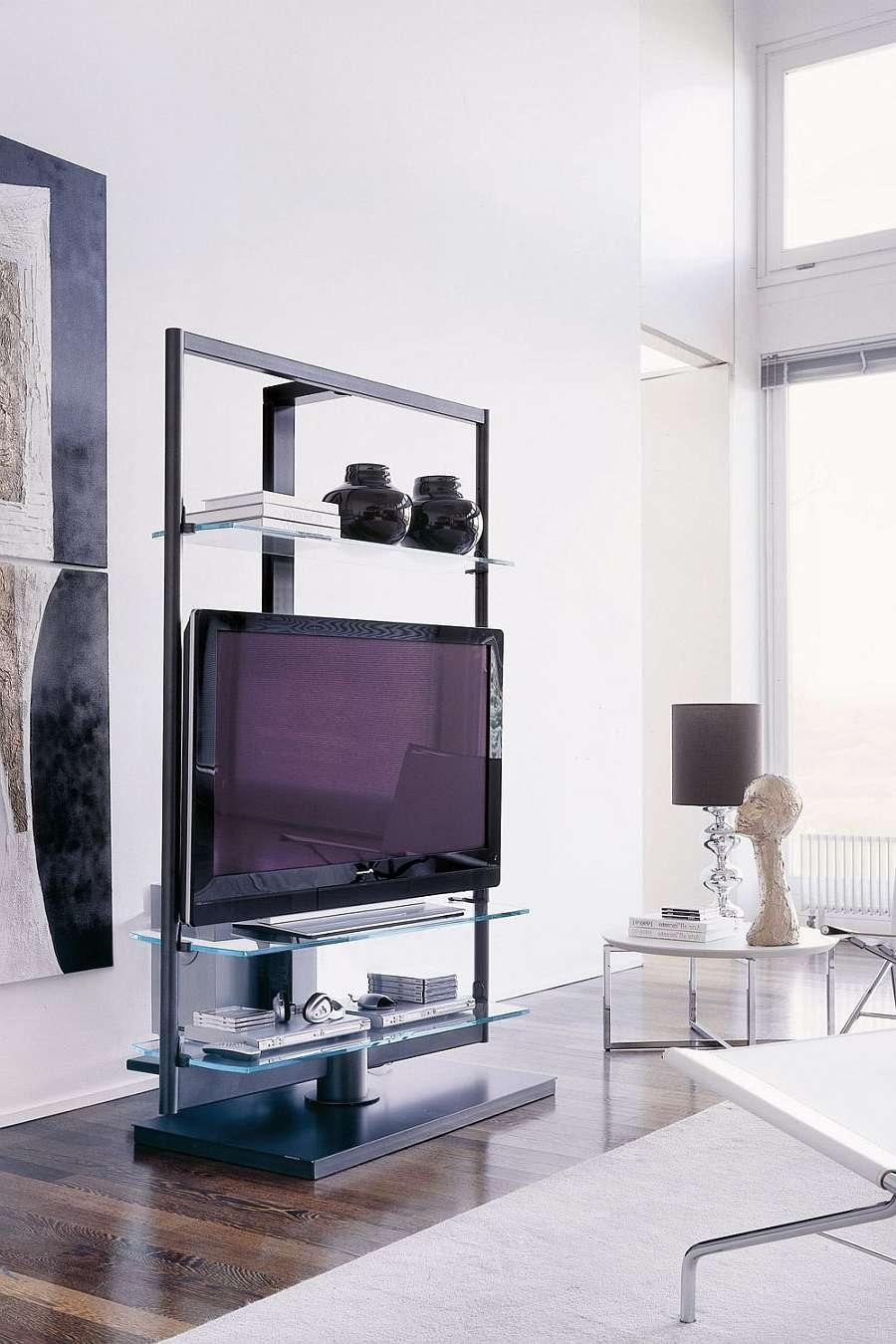 Captivating Tv Stand Small Space 47 On Small Home Remodel Ideas Intended For Tv Stands For Small Spaces (View 3 of 15)