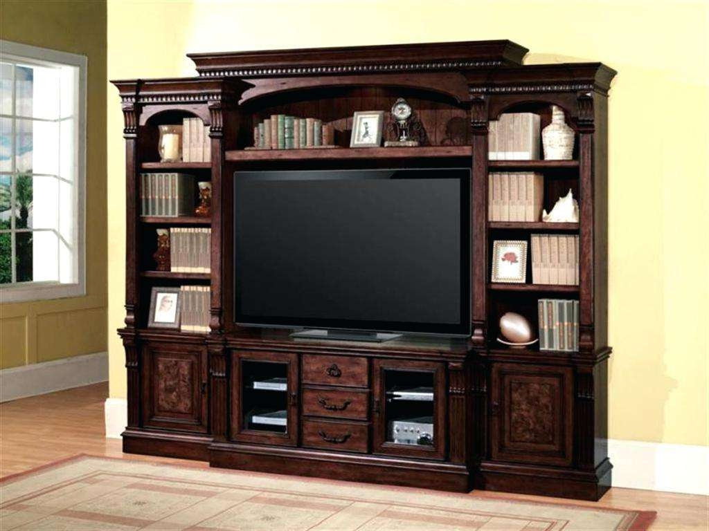 Captivating Wall Unit Storage Living Room Units Estate Tv Stand Intended For Entertainment Center Tv Stands (View 11 of 15)