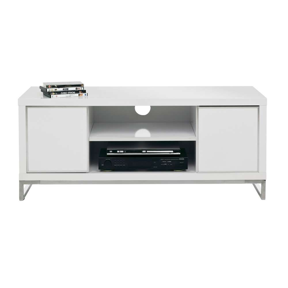 Charisma Tv Unit White At Wilko For White Gloss Tv Cabinets (View 3 of 20)