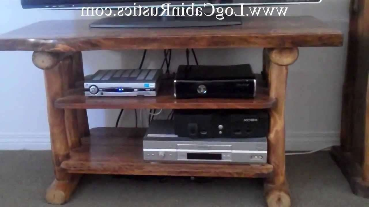Cheap Rustic Tv Stand | Home Design Ideas Intended For Cheap Rustic Tv Stands (View 2 of 15)