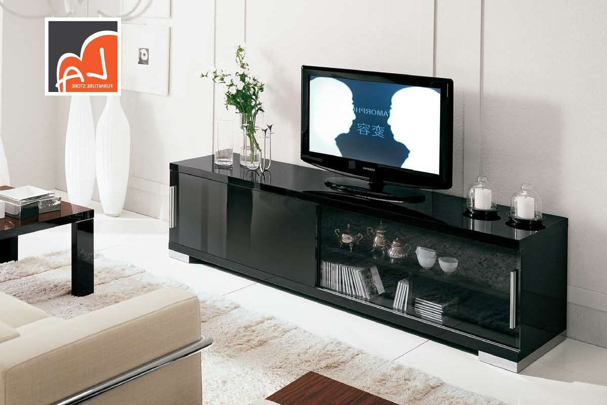 Choosing Between Small And Big Tv Stands – La Furniture Blog Within Big Tv Stands Furniture (View 2 of 15)