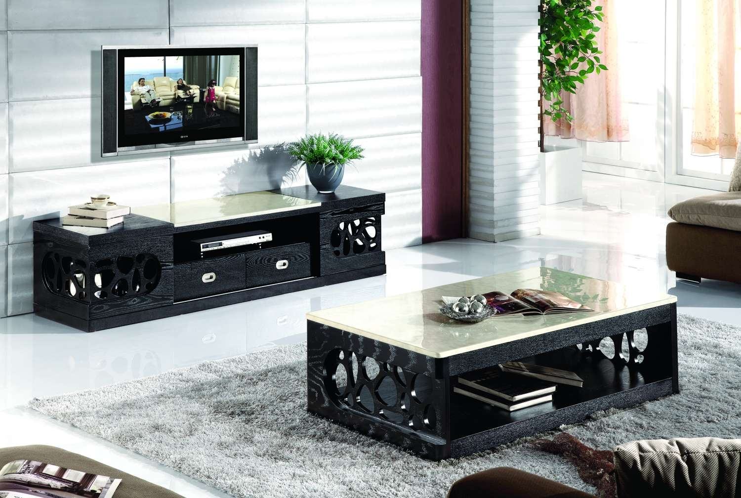 Coffee Table : Coffee Table Tv Stand And Set Stirring Pictures With Tv Cabinets And Coffee Table Sets (View 13 of 20)