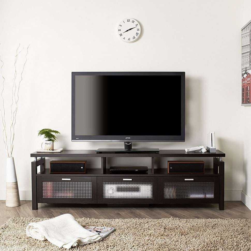 Coffee Table : Magnificent Side Tables For Living Room Accent Regarding White And Black Tv Stands (View 2 of 15)