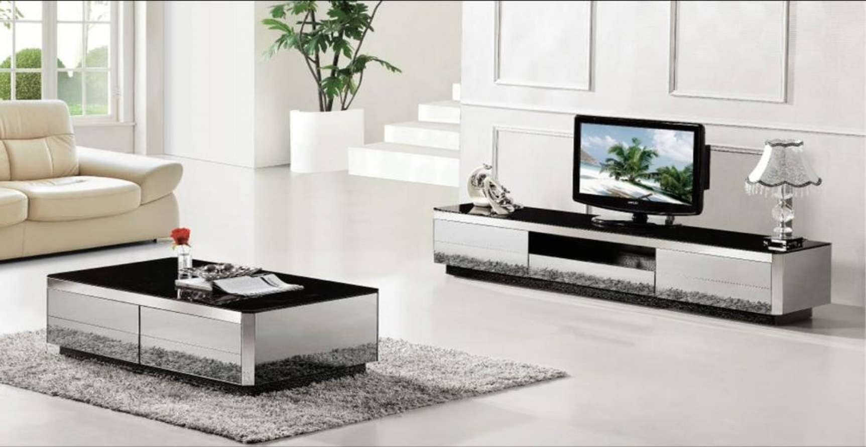 Coffee Table : Marvelous Coffee Table And Tv Stand Set Photos Intended For Coffee Tables And Tv Stands Matching (View 6 of 20)