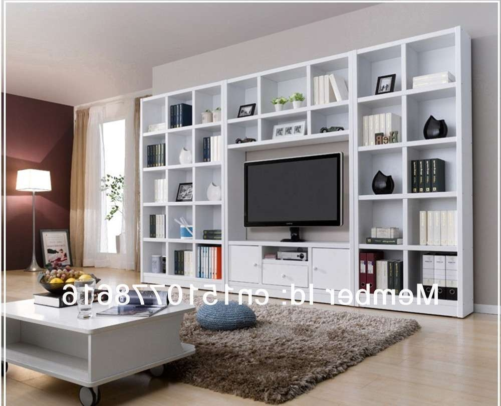 Combination Bookcase Tv Cabinet Brief Bookshelf Tv Cabinet Wine In Tv Stands And Bookshelf (View 4 of 15)